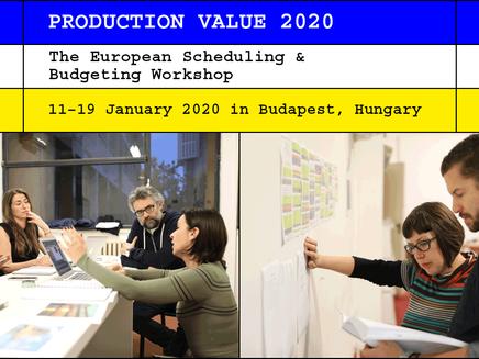 За своето 14-то издание, Production Value ще се проведе в Будапеща, Унгария от 11 до 19 януари 2020