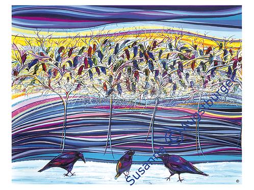 """""""Jahreshauptversammlung"""" 2012  Kunstkarte handsigniert"""
