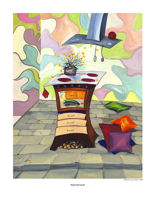 """""""Kochstudio"""" 1999 - Fine Art Print"""