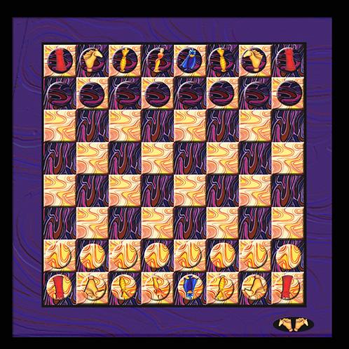 """Schach-Spiel """"Kapitulation"""""""