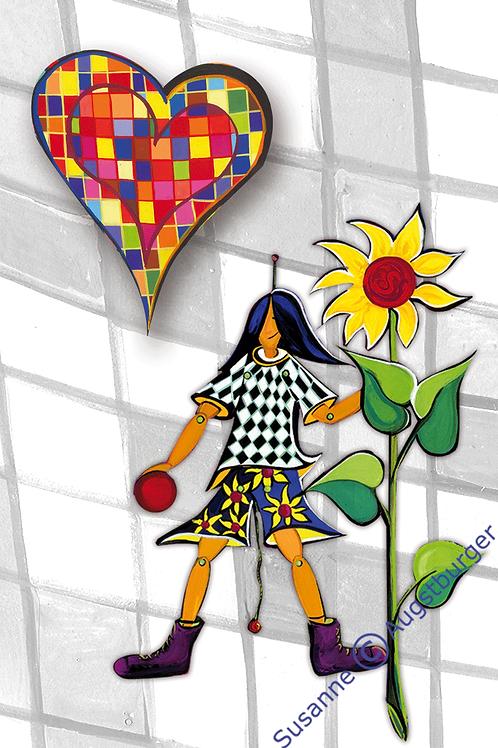 LOVELY BOY Design-Grußkarte