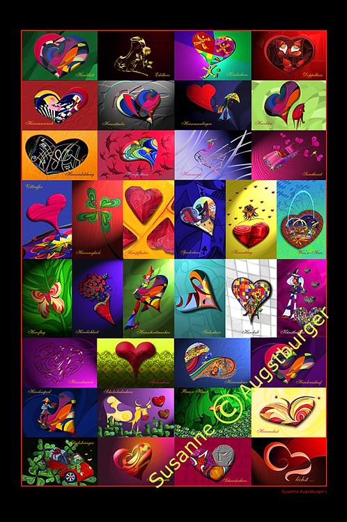 Poster Herzlichkeiten