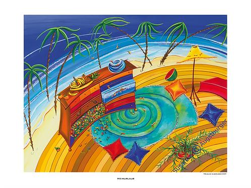 Heimurlaub 2007 Fine Art Print
