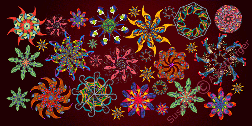 Colourful gears