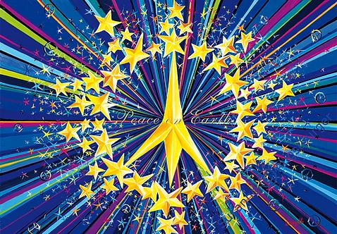 Peace on earth  2016 Weihnachts-Grußkarte