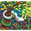 "Thumbnail: ""Schleichweg"" 2009 Kunstkarte handsigniert"