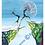 "Thumbnail: ""Hochmut""  2001 Kunstkarte handsigniert"