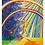 "Thumbnail: Sternzeichen Waage - ""Mediator"" 2020  Kunstkarte handsigniert"