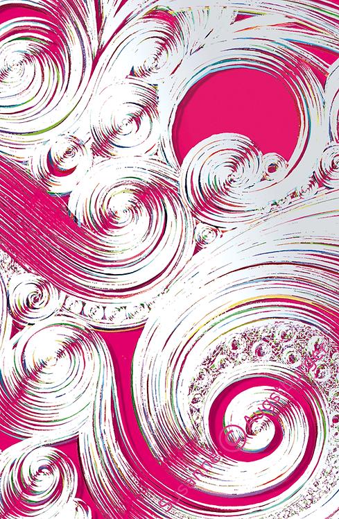 STORM OF LOVE Design-Grußkarte