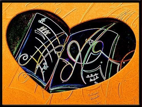 Herzensbildung - digtaler Fotodruck