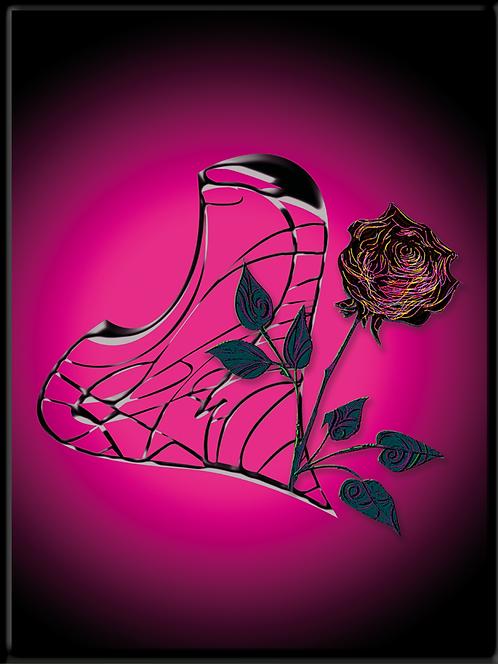 Black Beauty - digtaler Fotodruck