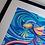 Thumbnail: Fine Art Print gerahmt Fische - TRAUMTÄNZER