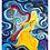 "Thumbnail: ""Himmelsklänge""  2013 Kunstkarte handsigniert"