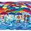 """Thumbnail: """"Wasserscheu""""  2004 Kunstkarte handsigniert"""
