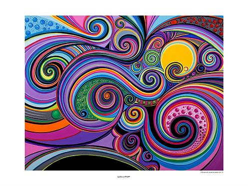 """Lollipop"" 2016 - Fine Art Print"