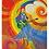 """Thumbnail: """"Glimmer of hope""""  2015 Kunstkarte handsigniert"""