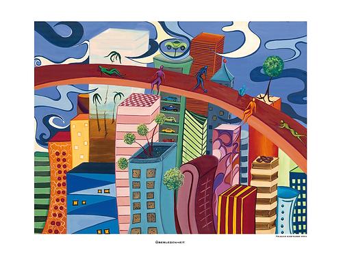 """Überlegenheit"" 2005 - Fine Art Print"