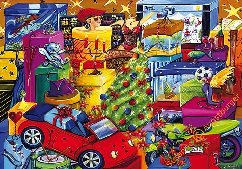 Erfüllung  2010 Weihnachts-Grußkarte