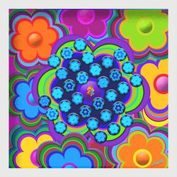 FLOWER POWER Solitär und Puzzle