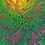 Thumbnail: GREEN FLAMES Design-Grußkarte
