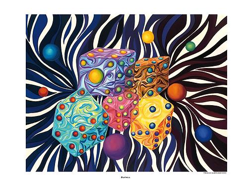 """""""Zufall"""" 2005 - Fine Art Print"""