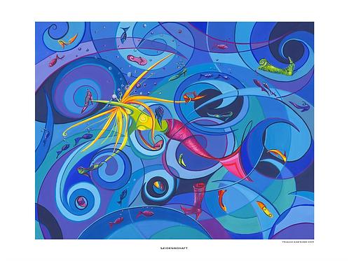 """""""Leidenschaft"""" 2009 - Fine Art Print"""