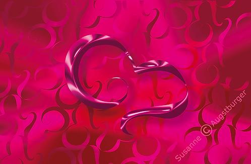 KISSES FOR YOU Design-Grußkarte