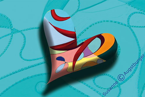 HERZENSSEELE Design-Grußkarte