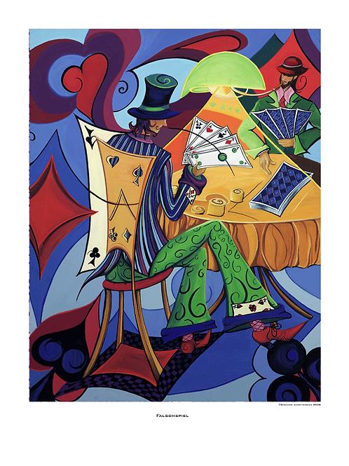 """Falschspiel"" 2006 - Fine Art Print"
