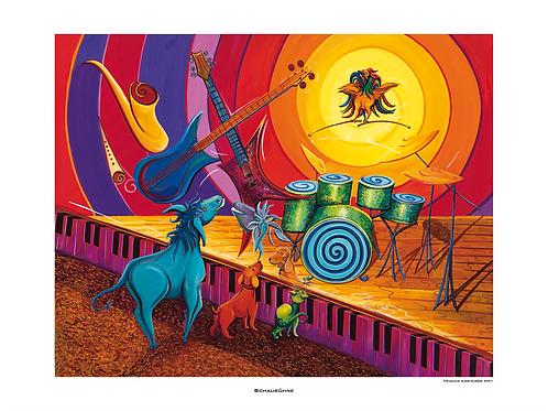 """""""Schaubühne"""" 2007 - Fine Art Print"""