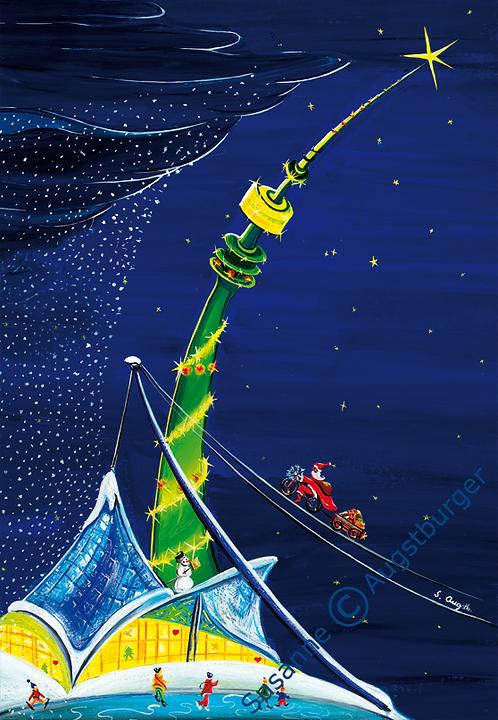 Highlight 2008 Weihnachtsgrußkarte