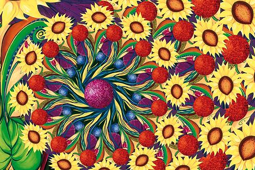 SUNNY DAY Design-Grußkarte