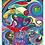 "Thumbnail: ""Magic soup""  2007 Kunstkarte handsigniert"