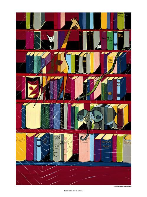 """Tiergeschichten"" 1998 - Fine Art Print"