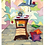 """Thumbnail: """"Kochstudio"""" 1999 Kunstkarte handsigniert"""