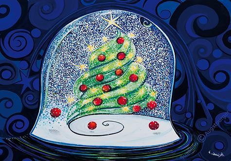 Wünsch dir was  2019 Weihnachts-Grußkarte