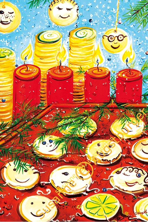 Leckerschmecker 2015 Weihnachts-Grußkarte