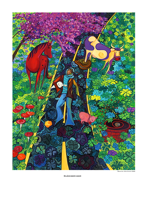 """Glücksbringer"" 2009 - Fine Art Print"
