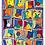 "Thumbnail: ""Fallübung"" 2005 Kunstkarte handsigniert"