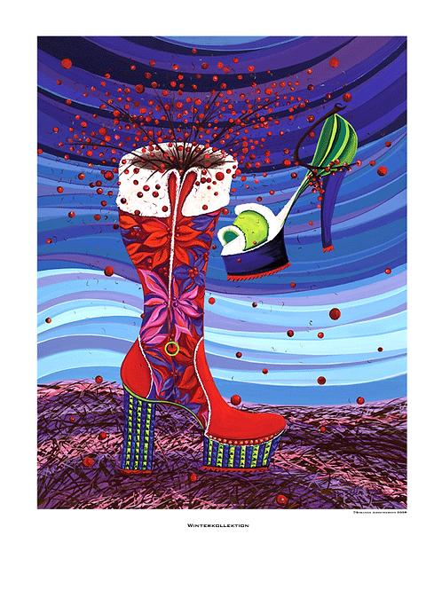 """""""Winterkollektion"""" 2008 - Fine Art Print"""