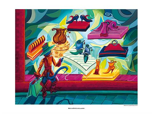 """""""Schnäppchenjagd"""" 2007 - Fine Art Print"""