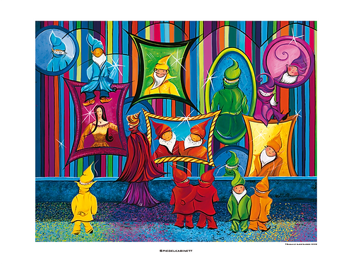 """Spiegelkabinett"" 2008 - Fine Art Print"