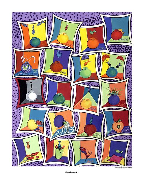 """Fallübung"" 2005 - Fine Art Print"