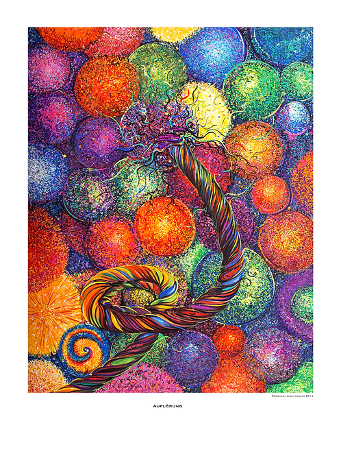 """Auflösung"" 2014 - Fine Art Print"