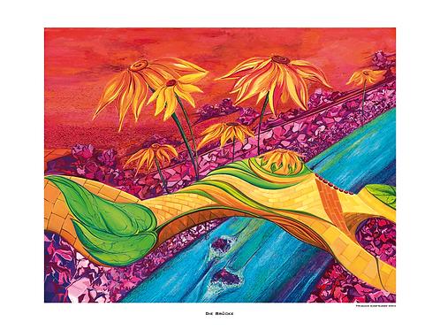 """""""Die Brücke"""" 2004- Fine Art Print"""