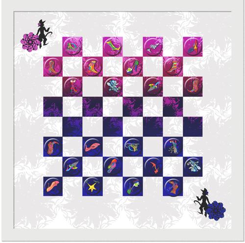 SCHUH-ALLÜREN Dame-Spiel