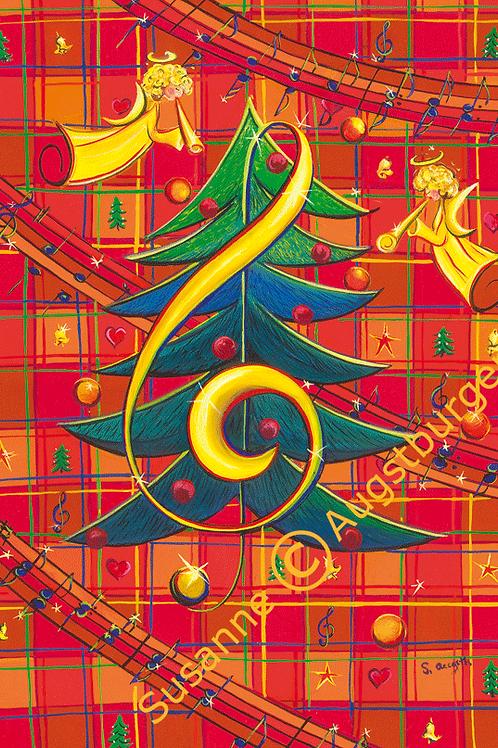 O Tannenbaum 2008  Weihnachts-Grußkarte