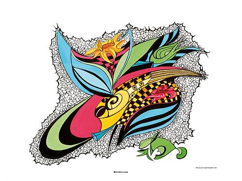 """Befreiung""  2001 - Fine Art Print"