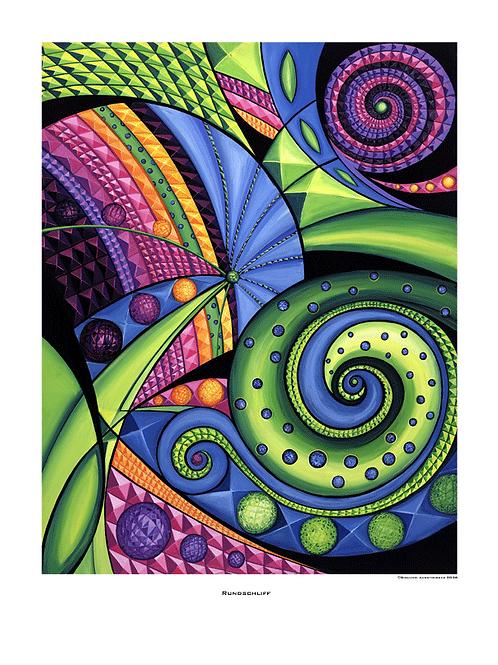 """""""Rundschliff"""" 2006 - Fine Art Print"""
