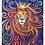 """Thumbnail: Sternzeichen Löwe - """"Seine Majestät""""  2020 Kunstkarte handsigniert"""